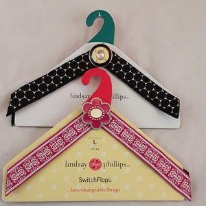 Lindsay Phillip's SwitchFlops Straps